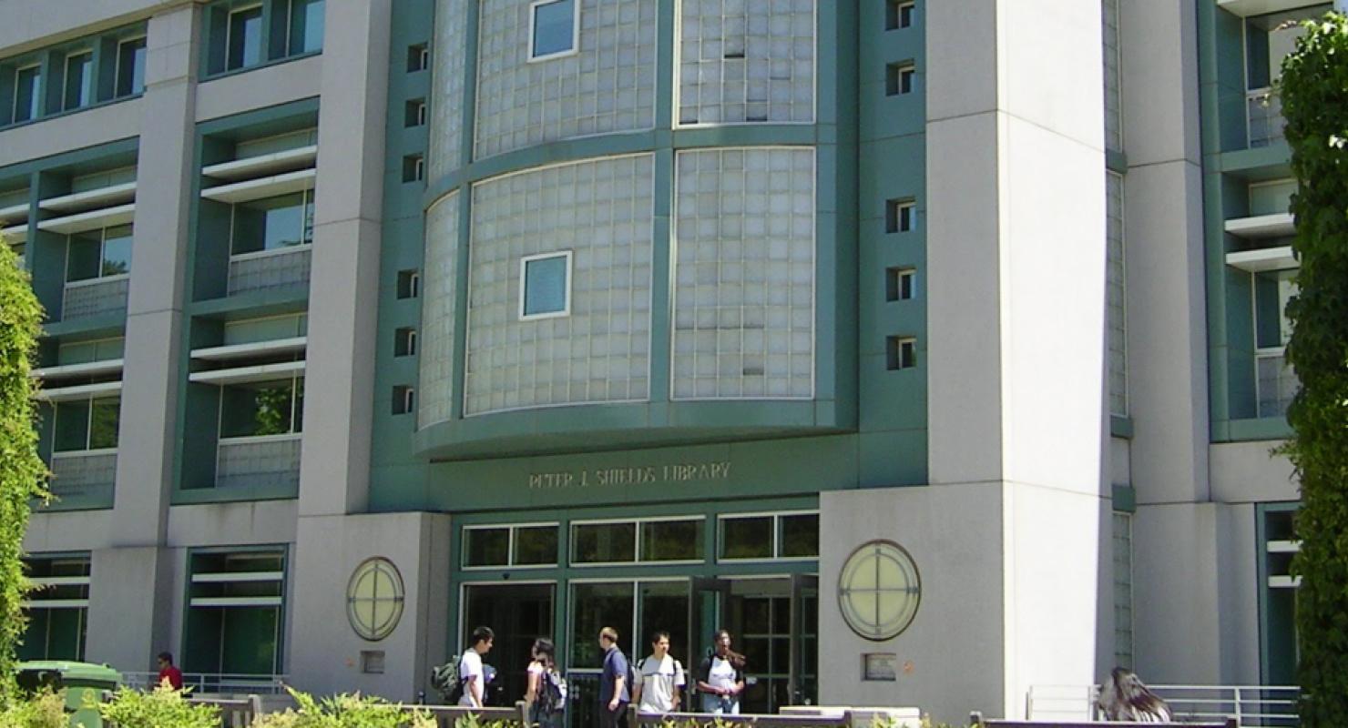 Shields Library, UC Davis
