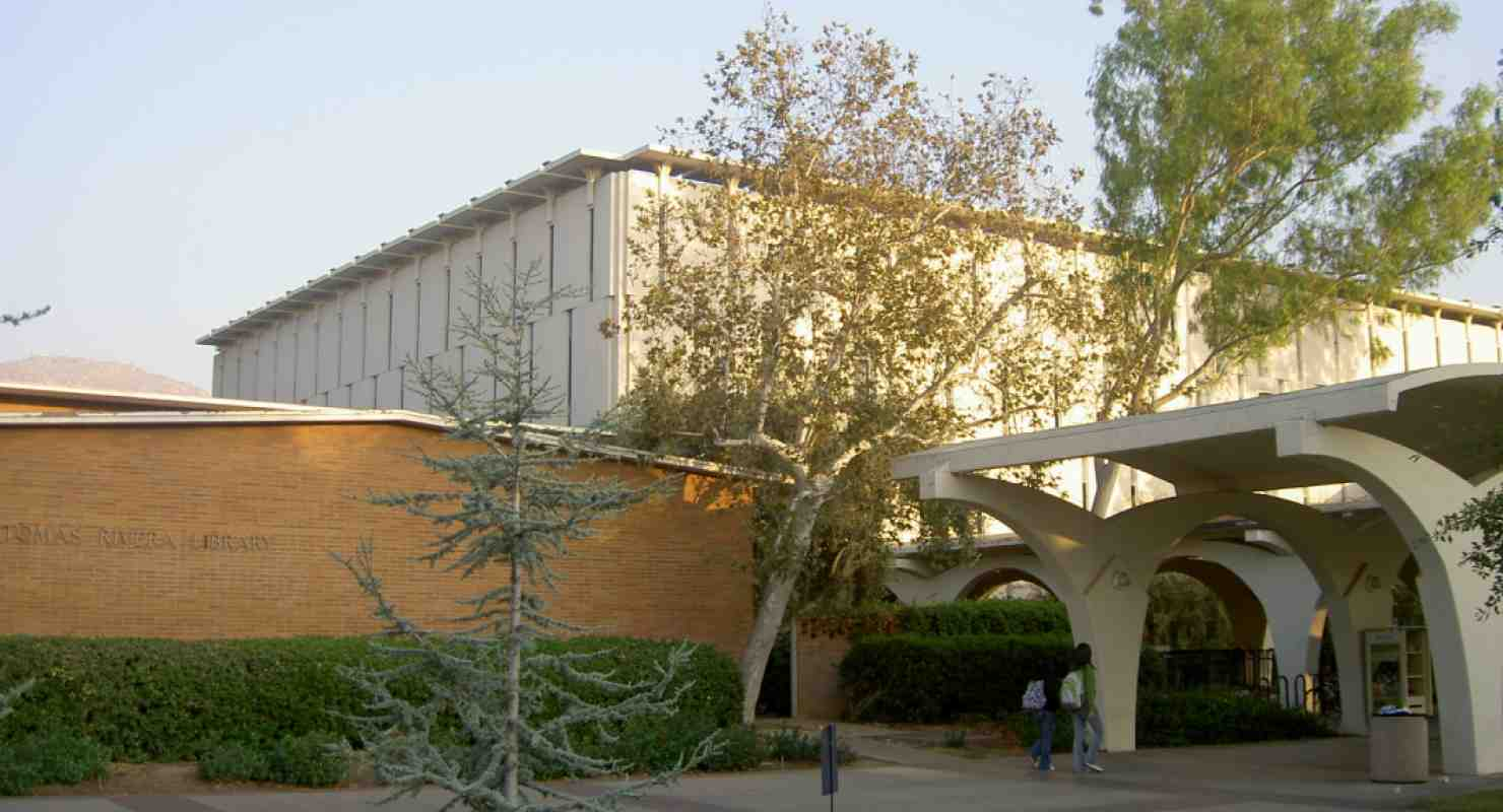 Rivera Library, UC Riverside