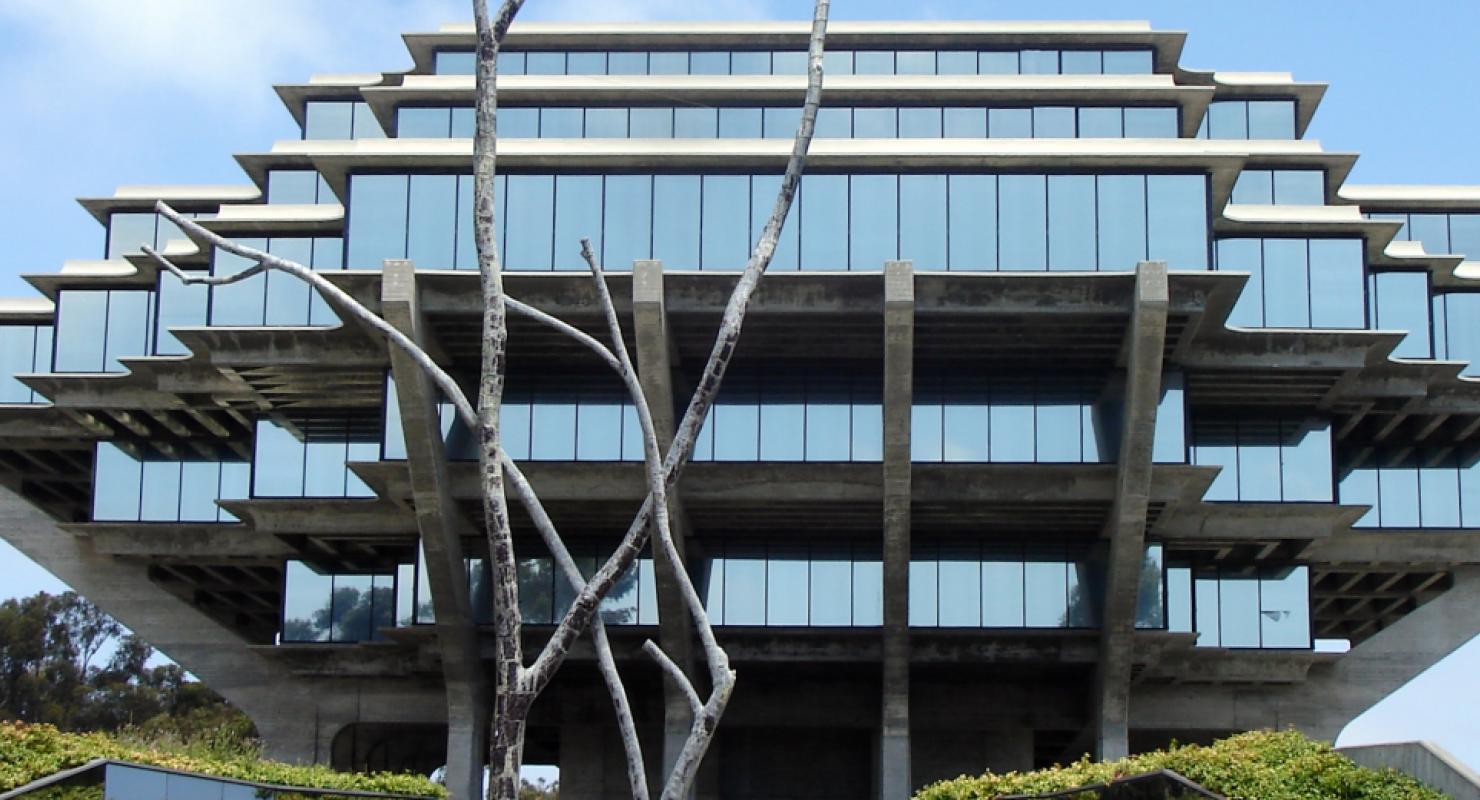 Geisel Library, UC San Diego