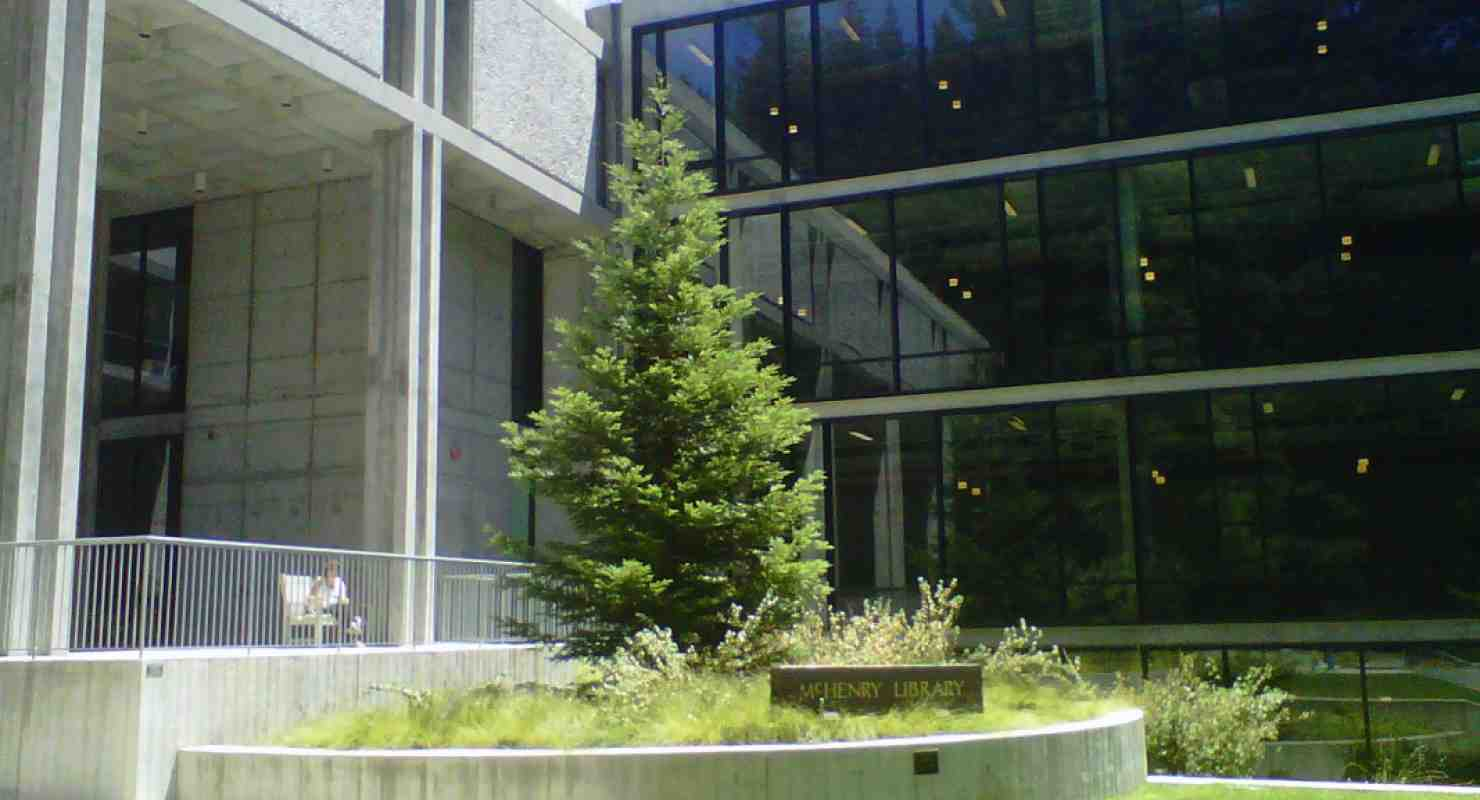 McHenry Library, UC Santa Cruz