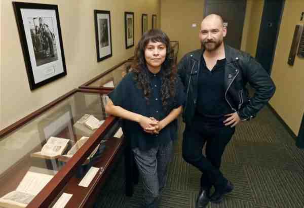 Elvia Arroyo-Ramirez and Derek Quezada