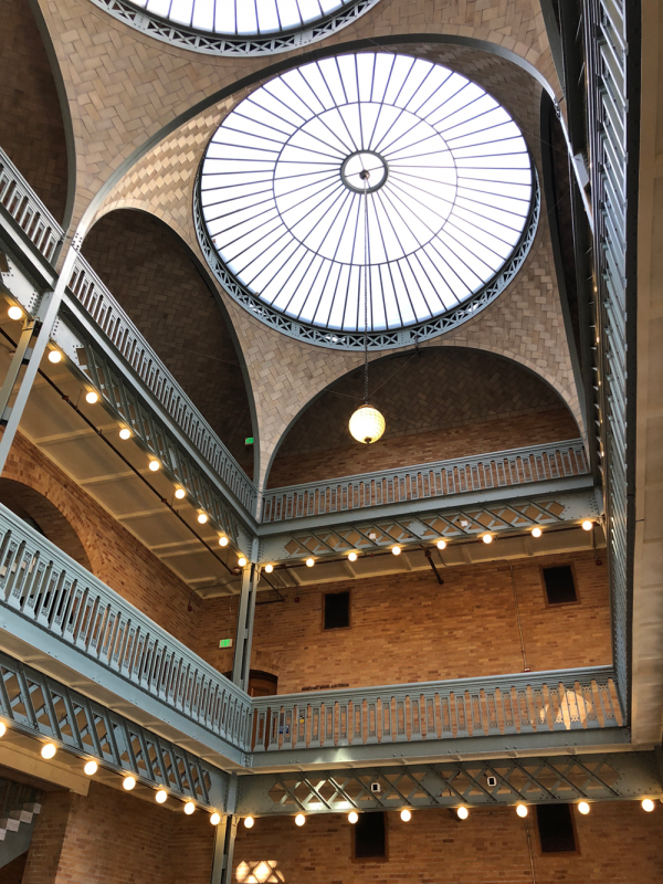 interior of Hearst Mining building photo by flickr user melystu
