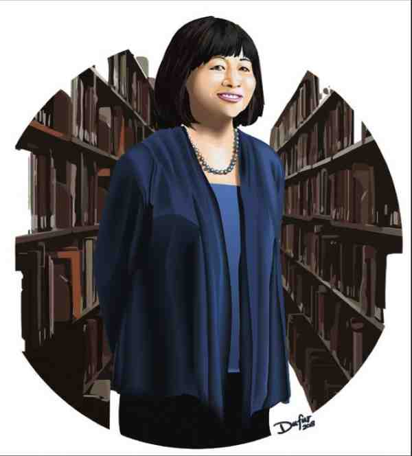 University Librarian Lorelei Tanji